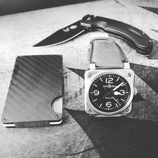 Benchmade - Every day carry. #ridgewallet #bellandross #br0392 #benchmade #knives #edc #everydaycarry #watchesofinstagram