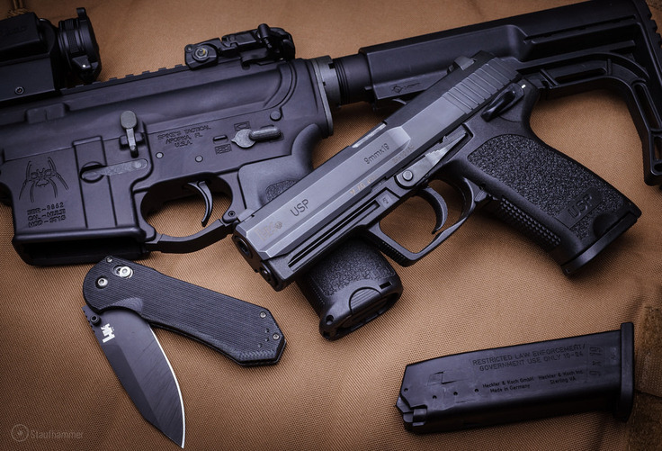 benchmade - Heckler & Koch USP & Axis 14175 with 'Backup'