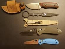 Benchmade - My son is 13 and a Benchmade loyal young man