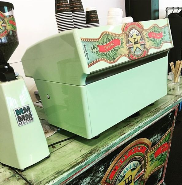 COFFEEUFEEL - How fantastic to have a coffee machine, that's a bit interesting and colourful for an event. Love it! We were super impressed when this was rolled out at an...
