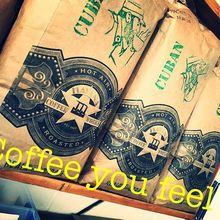 COFFEEUFEEL - Feelin Havana today ...... #havanacoffeeworks #23groveroadcoffeehouse #coffeeisallyouneed #happy #today