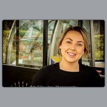 COFFEEUFEEL - #teawamutu #photography #havanacoffeeworks #thelab #coffeeaddict #businesswoman the face behind The Lab owner/operator Ellie Richards from the photoshoot...