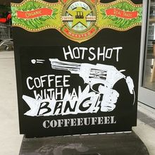 COFFEEUFEEL - We hustle coffee...boom #havanacoffee #havanacoffeeworks #bangonthemoney