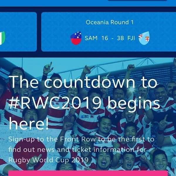 笑顔の架け橋Rainbowプロジェクト - Countdown to RWC Japan 2019... Go team #oceania #Australia #NewZealand #Fiji #Tonga. One of the game venues, Kamaishi Recovery Memorial Stadium is currently...